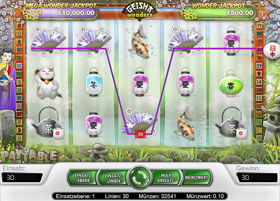 Spiele Tales Of A Geisha - Video Slots Online