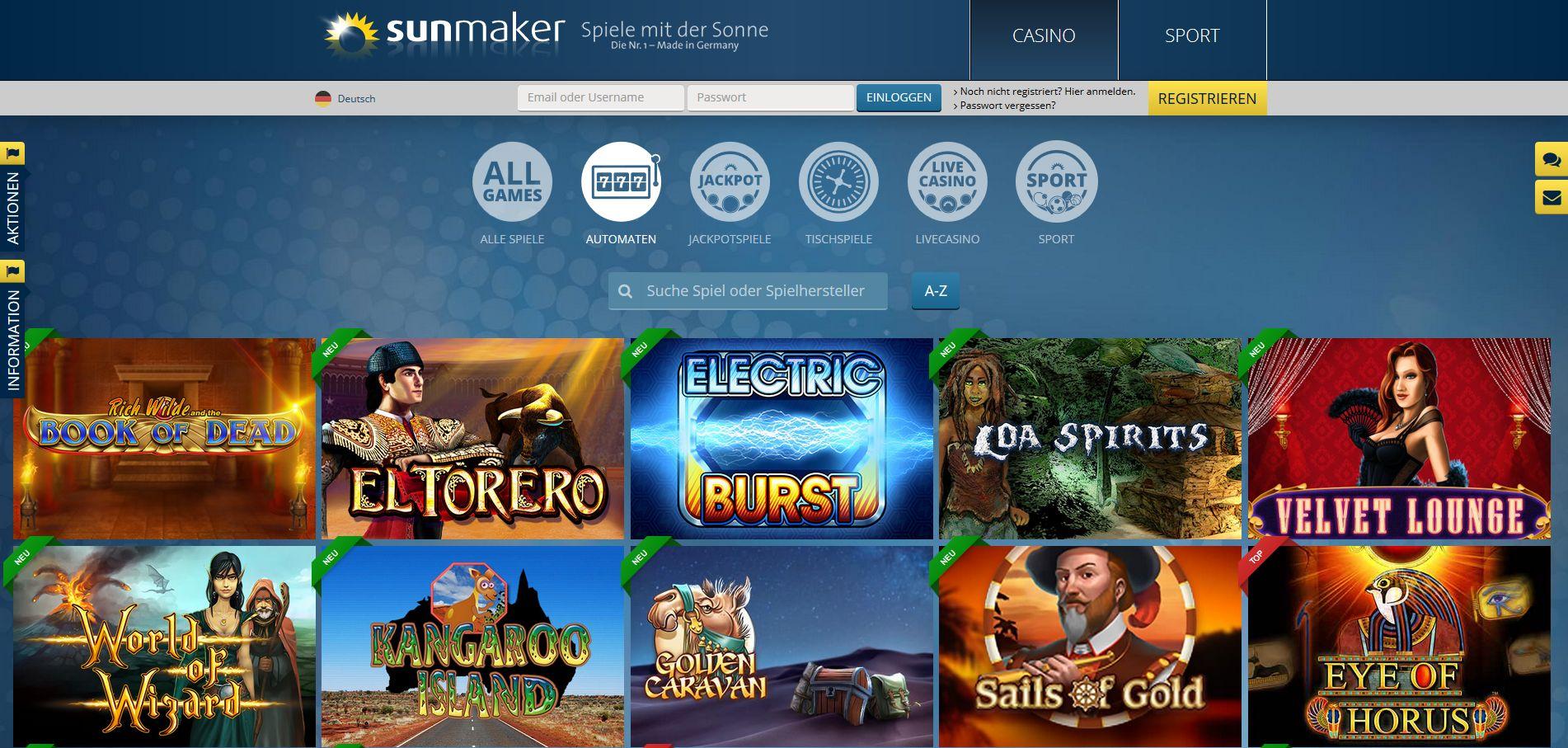 Https://Mobile.Sunmaker.Com/De/Online-Casino-Spiele/