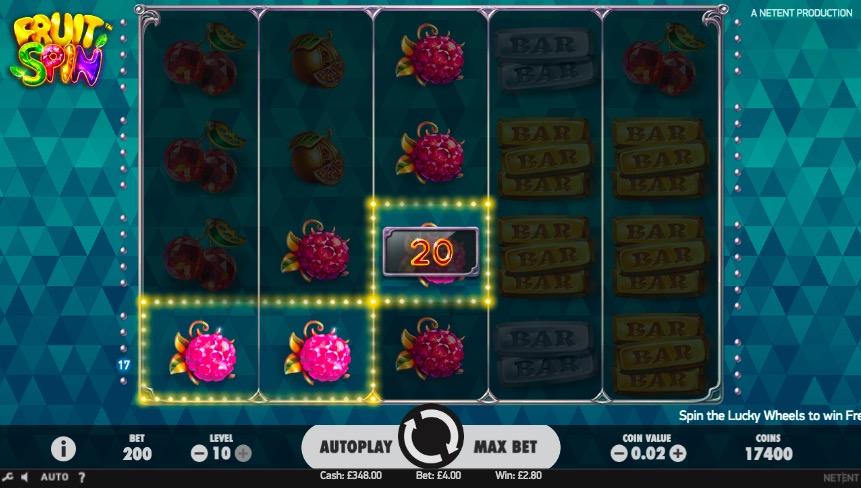 Fruit Spin - Discover the NetEnt Casino Slot | SlotsClub com