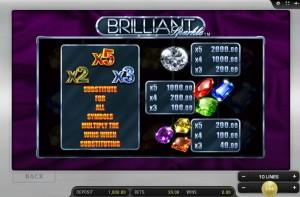 brilliant-sparkle-paytable