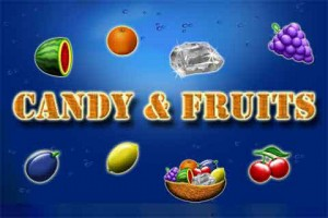 Candy and Fruits Logo