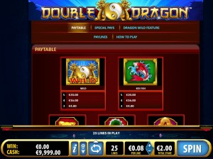 double-dragon-paytable