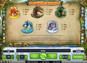 dragon-island-paytable