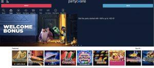partycasino-start