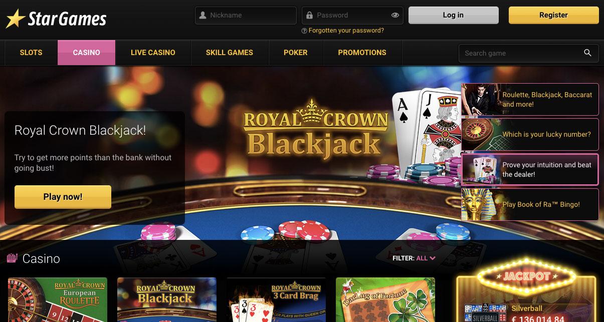 Www.Stargames Online Casino