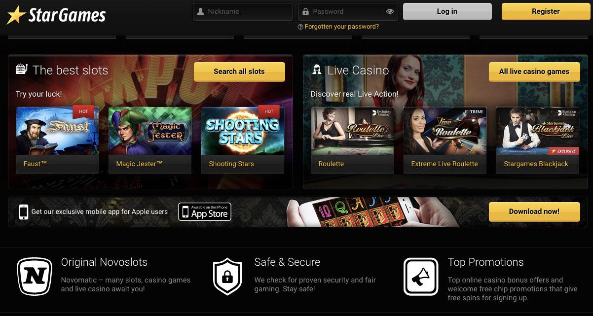 Online Casino Ahnlich Stargames